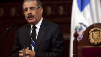 لاطینی امریکہ کےملک ڈومینیکن ری پبلک میں صدرڈنیلومیڈینا نے66% ووٹ حاصل کرکےواضع اکثریت حاصل کرلی ہے