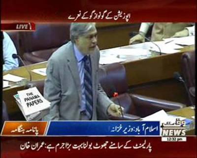 Ishaq Dar's Speech In National Assembly Ijlas