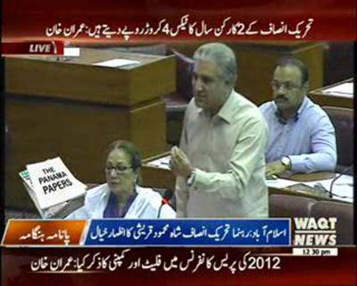 Shah Mehmood Qureshi's Speech In National Assembly Ijlas