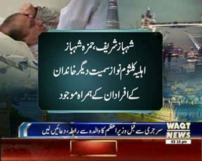 PM Nawaz's Open-Heart Surgery Successfully Completed in London