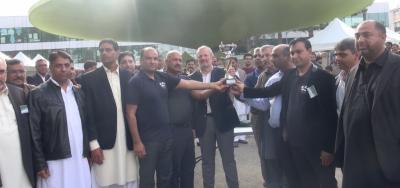 فرانس پاکستان ایسوسی ایشن کے5سالانہ والی بال ٹورنامنٹ کا فائنل حیدری کلب نےجیت لیاممبر فرانسیسی پارلیمنٹ موسیوفرانسوا پوپینی نےانعامات تقسیم کئے