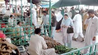 اسلام آباد میں شہریوں کو معیاری اشیا خورونوش کی سستےداموں فراہمی کیلئےحکومت کی جانب سےلگائےگئےرمضان بازار بھی عوام کوریلیف فراہم نہ کرسکے