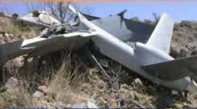 میانوالی میں پاک فضائیہ کا بغیر پائلٹ طیارہ گر کر تباہ ہو گیا