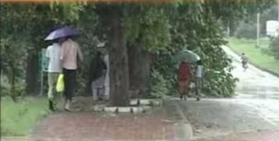 گرمی اورحبس کےستائےشہری موسلا دھار بارشوں کے لئے تیار ہوجائیں۔مون سون کا سسٹم ملک میں داخل ہونےسےبارشوں کا آغازہوگیاہے