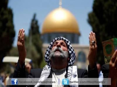 اسرائیلی حکام نے مسجد الاقصی کے احاطے میں غیر مسلموں کا داخلہ بند کردیا