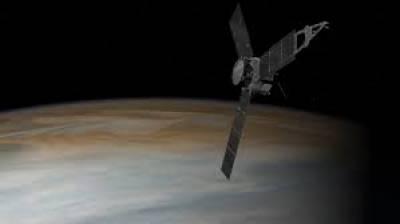 ناسا کے خلائی جہاز جونو نے سیارہ مشتری کے گرد سفر شروع کر دیا ہے