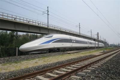 چین نے تیز رفتار ٹرین چلانے کا کامیاب تجربہ کیا ہے