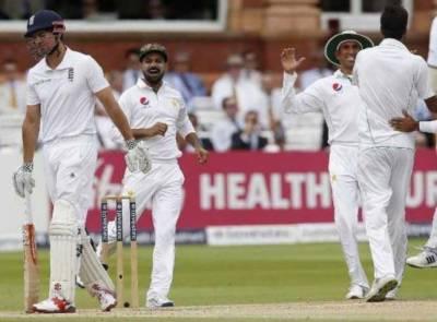 پاکستان اور انگلینڈ کے درمیان دوسرے ٹیسٹ میں انگلش ٹیم کی پوزیشن مستحکم ہے،