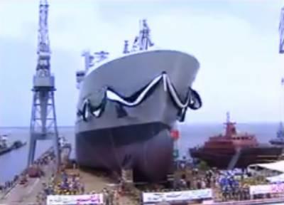 سترہ ہزار ٹن وزنی وار شپ فلیٹ ٹینکرپاک بحریہ کےبیڑے میں شامل ہو گیا