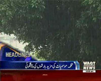 Waqtnews Headlines 10:00 AM 25 August 2016