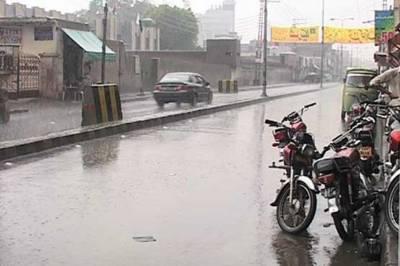 لاہوراورگردونواح میں تیزہواؤں کے ساتھ بارش سے موسم خوشگوار ہوگیا