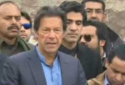 چیئرمین پی ٹی آئی ایک بار پھرمسلم لیگ ن پر برس پڑے، عمران خان
