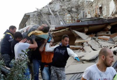 اٹلی میں زلزلے سے تباہی کے بعد امدادی کارروائیاں جاری ہیں