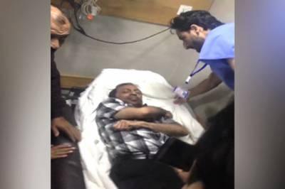 کار حادثے میں زخمی متحدہ رہنما ڈاکٹر فاروق ستار کی طبعیت خطرے سے باہر , سی ٹی سکین اور بلڈ ٹیسٹ رپورٹ مثبت آنے پر وارڈ میں منتقل