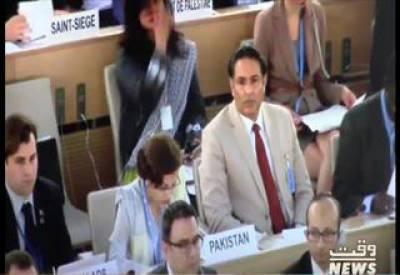 تہمینہ جنجوعہ: بھارت مقبوضہ کشمیرسےعالمی توجہ ہٹانےکیلیے اوچھےہتھکنڈےاستعمال کررہاہے