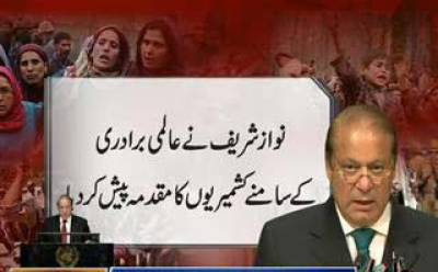 پاکستان نے کشمیر میں بھارتی مظالم کے ثبوت اقوام متحدہ کو پیش کرنے کا اعلان کردیا