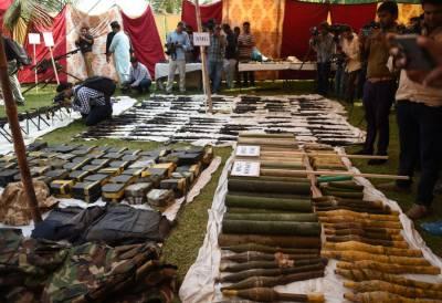 کراچی:عزیز آباد میں اسلحہ سے بھرے مکان کے بارے میں اہم انکشافات سامنے آگئے۔