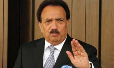 موجودہ حالات میں سب کو مل کر چلنا چاہیے،عمران خان کےمشترکہ اجلاس میں نہ آنے پر افسوس ہوا : رحمان ملک