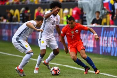 فیفا ورلڈ کپ دو ہزار اٹھارہ کوالی فائرز میں چلِی اور کولمبیا کی ٹیموں نے کامیابی حاصل کرلی