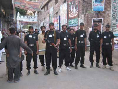 جڑواں شہروں میں محرم الحرام کے جلوسوں کے لئے سیکیورٹی انتظامات کو حتمی شکل دے دی گئی۔
