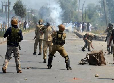بھارتی فوج نے مقبوضہ جموں و کشمیر کے علاقے پامپور میں سرکاری بلڈنگ پر مجاہدین کے حملے کا دعویٰ کیا ہے