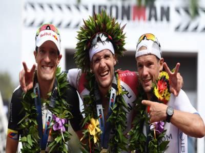 جرمن اتھلیٹ جان فرننڈو نے ہوائی میں ہونے والی ٹرائی ایتھلون آئرن مین ورلڈ چیمپئن شپ جیت لی