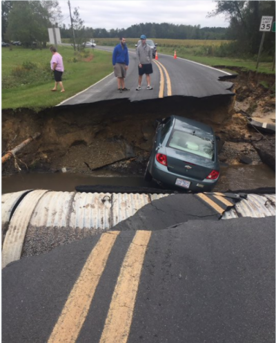 واشنگٹن،سمندری طوفان میتھیو کی امریکا میں تباہ کاریاں جاریفلوریڈا، شمالی و جنوبی کیرولینا اور جارجیا میں ہلاکتوں کی تعداد سولہ ہوگئی