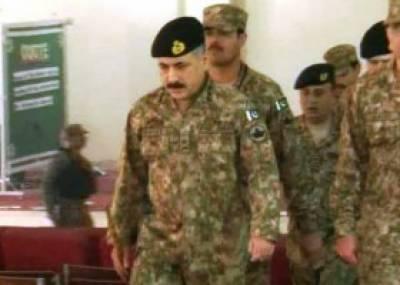 کور کمانڈر پشاور لیفٹیننٹ جنرل ہدایت الرحمان کا خیبر پختونخوا اور فاٹا کے حساس اضلاع کا دورہ , محرم میں سکیورٹی کے انتظامات کا جائزہ