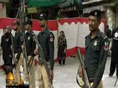 محرم الحرام کی سکیورٹی: ملک بھر میں پولیس،رینجرز اور فوج کے جوان امن و امان برقراررکھنے کیلئے پوری طرح چوکس۔