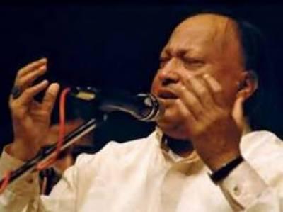 معروف گلوکار استاد نصرت فتح علی خان کا 68واں یوم پیدائش پرسوں منایا جائیگا