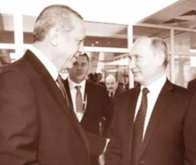 ترکی، روس نے گیس پائپ لائن کی تعمیر کے معاہدے پر دستخط کر دیئے