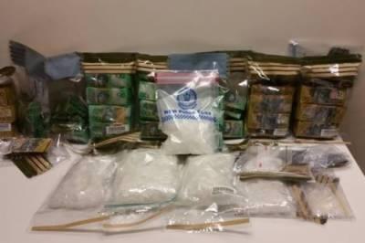 آسٹریلیا کی پولیس نے سڈنی میں کارروائی کے دوران2ملزمان گرفتارکرکے بھاری مقدار میں منشیات برآمد کرلی