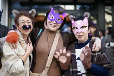 جاپانیوں کا بلیوں سے اپنی محبت کا اظہار , ٹوکیو کی سڑکوں پر مارچ