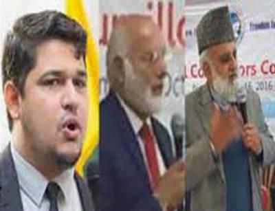 مسئلہ کشمیر سوا کروڑ انسانوں کے بنیادی حق کا مسئلہ ہے۔ عبدالرشید ترابی