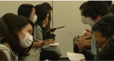 رفتار ڈیٹنگ سے بچنے کے لیےجاپان میں سخت ماسک کا استعمال