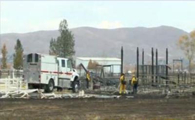 امریکی ریاست نواڈا میں لگی جنگلاتی آگ نے تیز ہواؤں کے باعث بے قابو ہونے والے شعلوں نے23 گھروں کو جلا کر راکھ کردیا