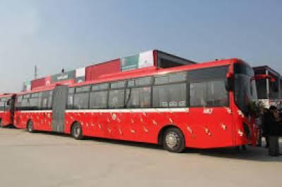 ملتان میں میٹرو بس سروس کی آزمائشی سروس شروع کردی گئی