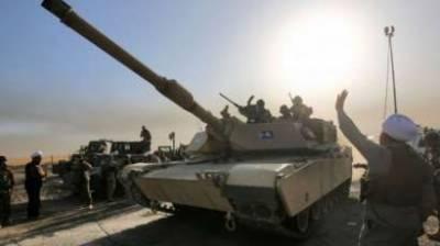 عراق کے شہر موصل سے داعش کا قبضہ چھڑانے کیلئےعراقی فورسز اورجنگجوؤں کے درمیان گھمسان کی جنگ جاری ہے