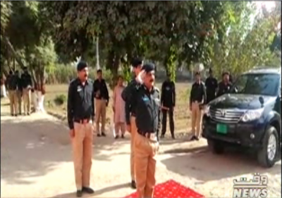ٹوبہ ٹیک سنگھ میں پولیس افسران کے دربار کا انعقاد کیا گیا