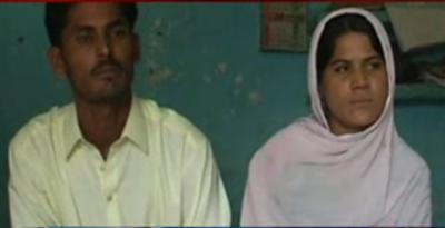 خانیوال میں پسند کی شادی کرنے والا جوڑا خان پور مہر پہنچ گیا،با اثر افراد قتل کے درپے ہیں