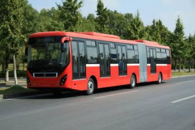 ملتان میں میٹرو بس سروس کی آزمائشی سروس شروع کردی
