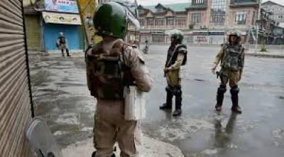 مقبوضہ وادی میں اب بھی حالات کشیدہ ہیں حریت رہنماؤں کی اپیل پر ہڑتال جاری ہے