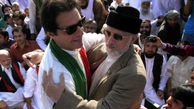 طاہر القادری نے پی ٹی آئی کے اسلام آباد احتجاج میں شرکت کی دعوت قبول کرلی