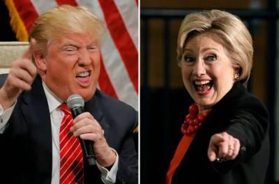 امریکہ کے صدارتی الیکشن:الیکشن مہم میں پہلی بار ہلیری اورٹرمپ کے پوانٹس برابرہوگئے