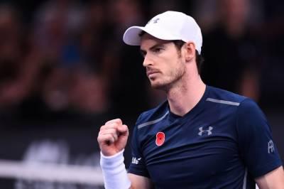 برطانیہ کے اینڈی مرے نے پیرس ماسٹرز ٹینس ٹورنامنٹ کے سیمی فائنل میں جگہ بنالی۔