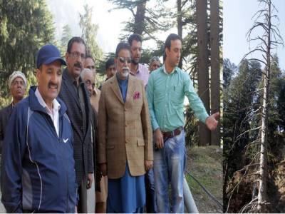 جنگلات ہماری قومی دولت ہیں اس کو آگ جیسی آفت سے بچانے کے لیے عوام کو مل کر اپنے کردار ادارکرناہوگا۔ وزیر جنگلات