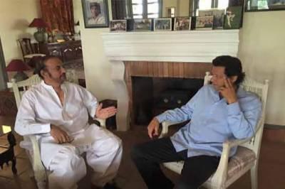 بابراعوان کی بنی گالہ اسلام آباد میں عمران خان سے ملاقات , پانامہ لیکس، نیوز لیکس اور این اے 110 انتخابی عذرداری پر تبادلہ خیال کیا گیا