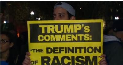 ڈونلڈ ٹرمپ کے صدرمنتخب ہونے کیخلاف طلبہ سڑکوں پر نکل آئے