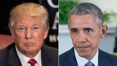 نو منتخب امریکی صدر ڈونلڈ ٹرمپ آج باراک اوباما سے ملاقات کریں گے،جس میں اقتدار کی پُرامن منتقلی سے متعلق گفتگو کی جائے گی
