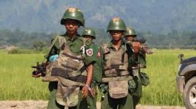 میانمار میں مسلمانوں کے خلاف ریاستی دہشتگردی کا سلسلہ رکنے کا نام ہی نہیں لے رہا 30 مسلمانوں کو شہید کردیا